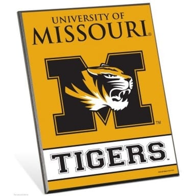 Missouri Tigers Merchandise - Easel Sign