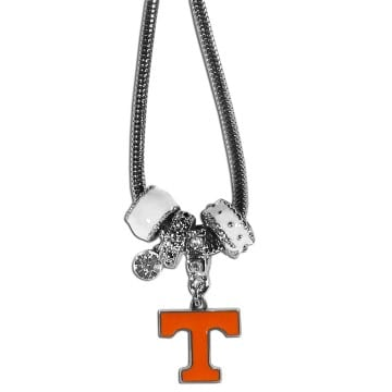 Tennessee Volunteers Merchandise - Euro Bead Necklace