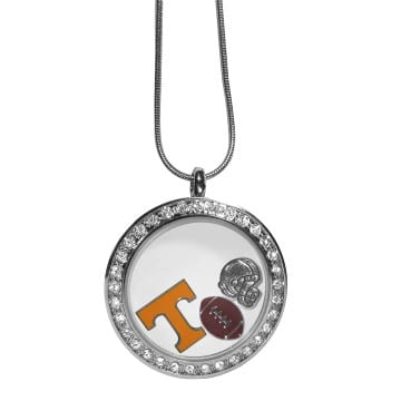 Tennessee Volunteers Merchandise - Floating Charm Locket Necklace