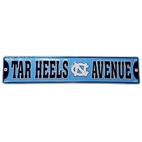 North Carolina Tar Heels Merchandise - Street Sign