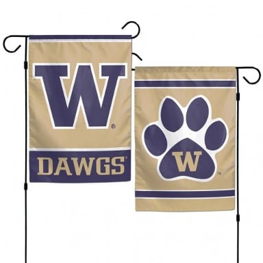 Washington Huskies Merchandise - Garden Flag