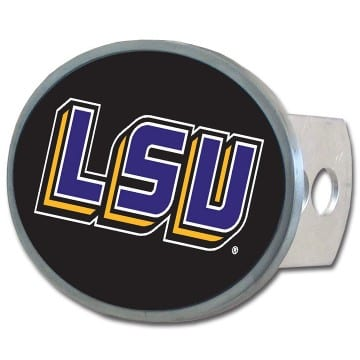LSU Tigers Merchandise - Oval Hitch Cover