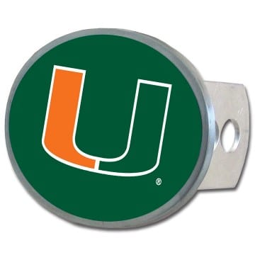 Miami Hurricanes Merchandise - Oval Hitch Cover