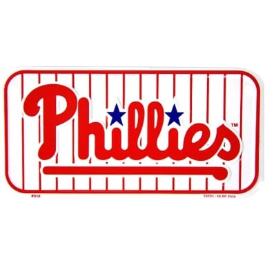 Philadelphia Phillies Bike License Plate