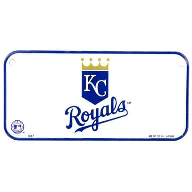 Kansas City Royals Bike License Plate
