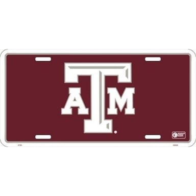 Texas A&M Aggies Merchandise - License Plate