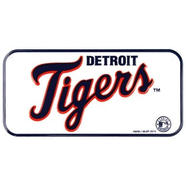 Detroit Tigers Bike License Plate