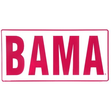 Alabama Crimson Tide BAMA License Plate