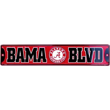Alabama Crimson Tide Merchandise - Street Sign