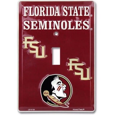 Florida State Seminoles Light Switch Cover