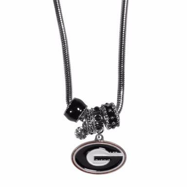 Georgia Bulldogs Merchandise - Euro Bead Necklace