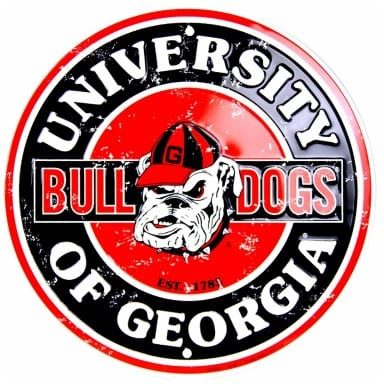 Georgia Bulldogs Merchandise - Circle Sign