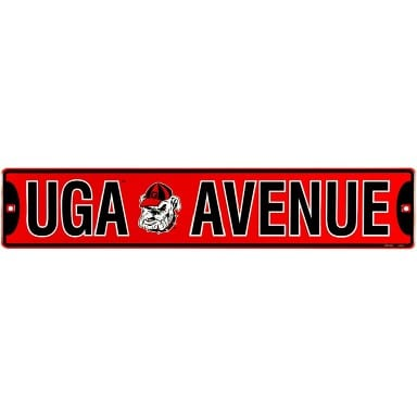 Georgia Bulldogs UGA Street Sign