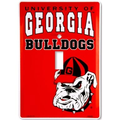 Georgia Bulldogs Merchandise - Light Switch Cover