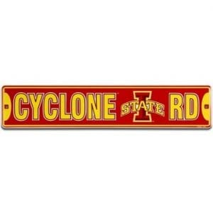 Street Sign - Iowa State Cyclones