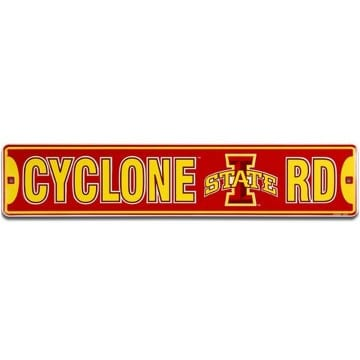 Iowa State Cyclones Merchandise - Street Sign