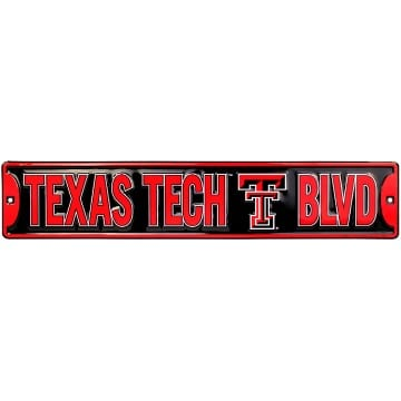 Street Sign - Texas Tech