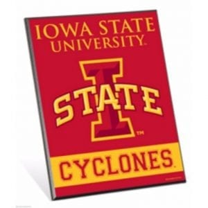 Iowa State Cyclones Easel Sign
