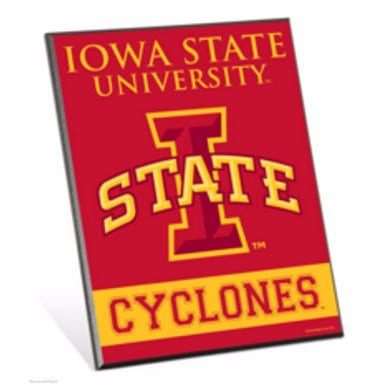 Iowa State Cyclones Merchandise - Easel Sign