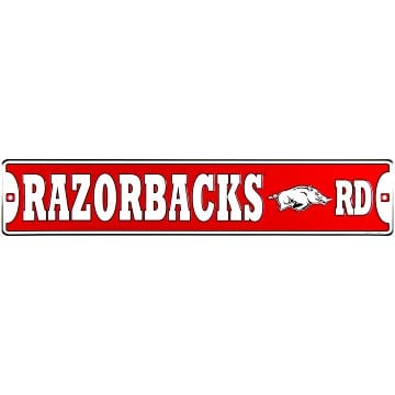 Street Sign - Arkansas Razorbacks