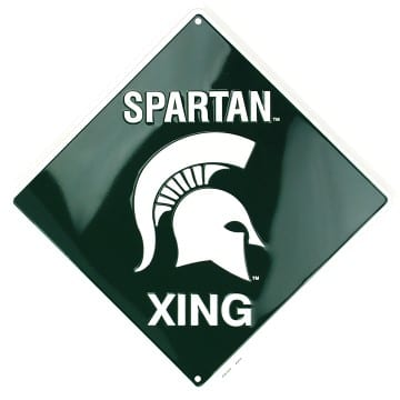 Michigan State Spartans Merchandise - Crossing Sign