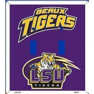 LSU Tigers Light Switch Cover