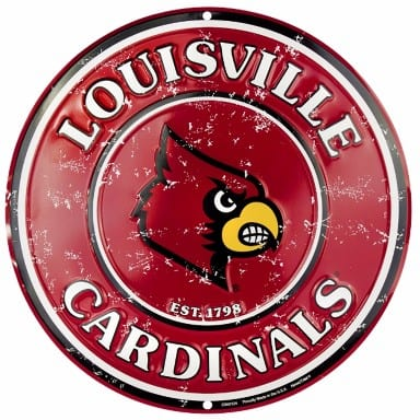Louisville Cardinals Merchandise - Circle Sign