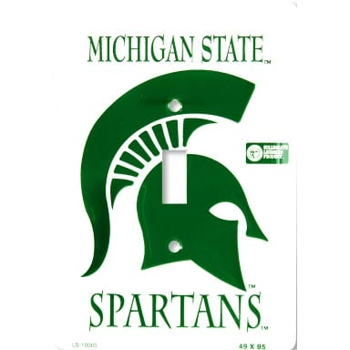 Michigan State Spartans Merchandise - Light Switch Cover