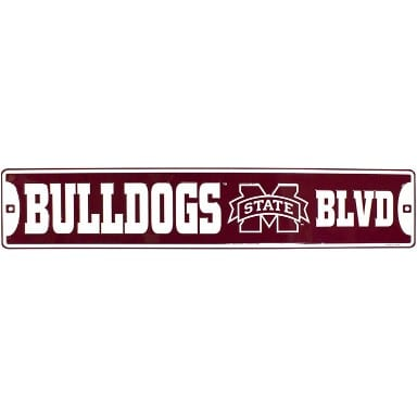 Mississippi State Bulldogs Street Sign