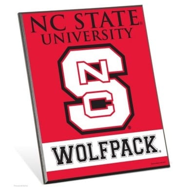 North Carolina State Wolfpack Merchandise - Easel Sign