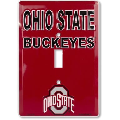 Ohio State Buckeyes Light Switch Cover