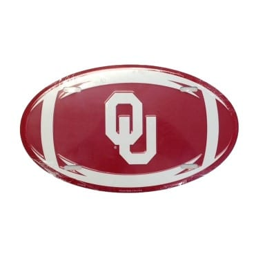 Oklahoma Sooners Oval License Plate