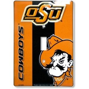 Oklahoma State Cowboys Light Switch Cover
