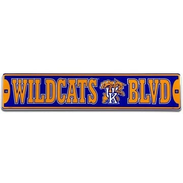 Kentucky Wildcats Merchandise - Street Sign