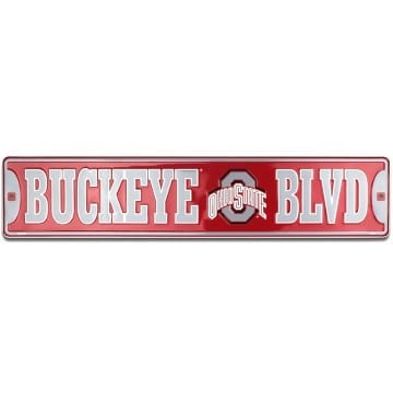 Ohio State Buckeyes Merchandise - Street Sign