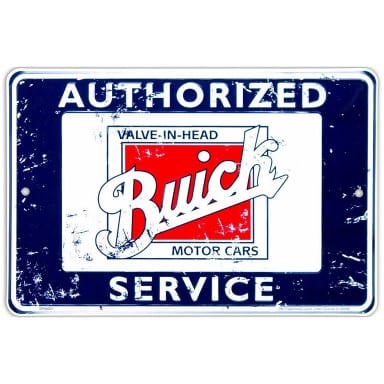 Buick Service Parking Sign