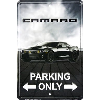 Chevrolet Merchandise - Camaro Parking Sign