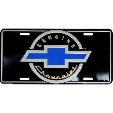 Chevrolet Merchandise - Genuine Chevrolet License Plate
