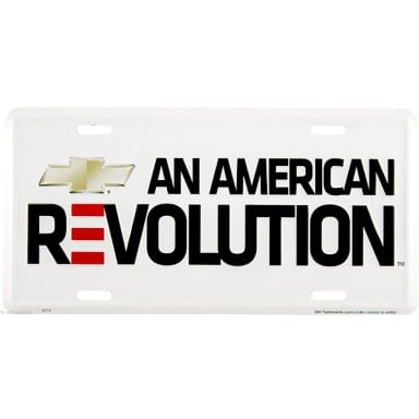 Chevrolet Merchandise - An American Revolution License Plate