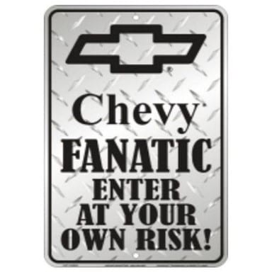 Chevy Fanatic Parking Sign