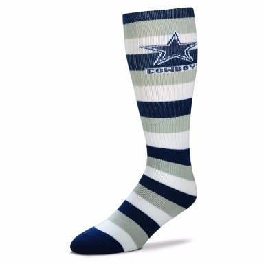 Dallas Cowboys Merchandise - Striped Knee High Socks
