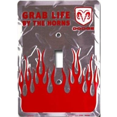 Dodge Merchandise - Grab Life Light Switch Cover