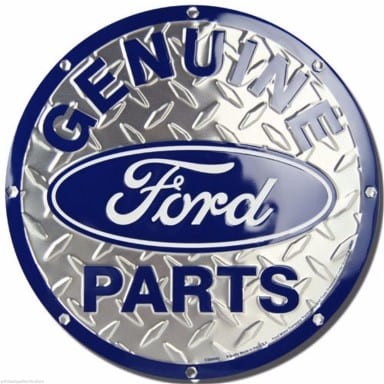 Ford Merchandise - Genuine Parts Circle Sign