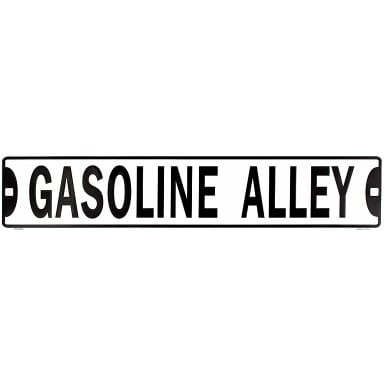 Gasoline Alley Street Sign