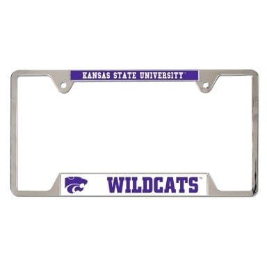 Kansas State Wildcats Merchandise - Metal License Plate Frame