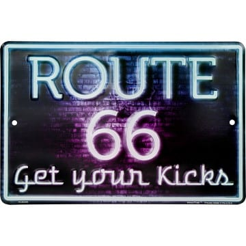 Route 66 Merchandise - Parking Sign