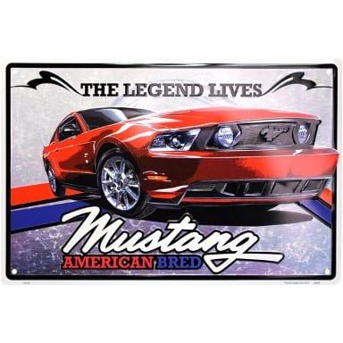 Ford Mustang Legend Lives Parking Sign