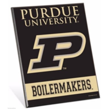Purdue Boilermakers Easel Sign