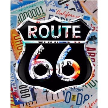 Route 66 Merchandise - Decorative Sign