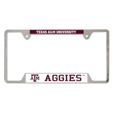 Texas A&M Aggies Merchandise - License Plate Frame
